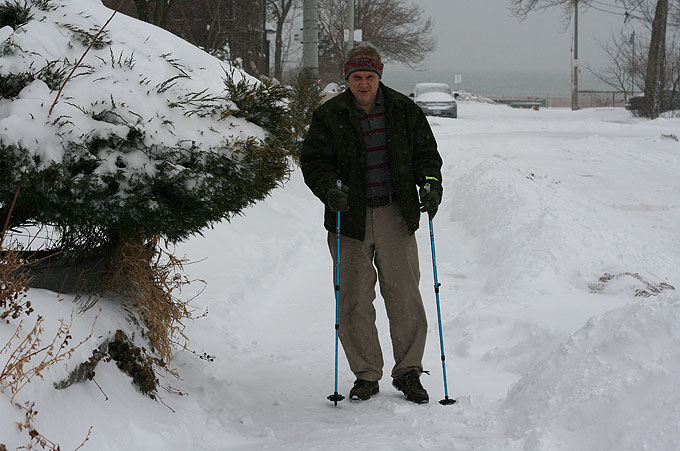 Nordic Walking in the Winter