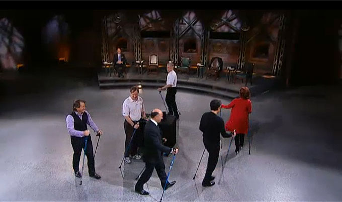 Nordic Walking on CBC's Dragons' Den